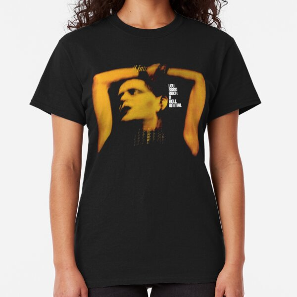 Lou Reed Rock N Roll Animal Shirt, Mask Classic T-Shirt