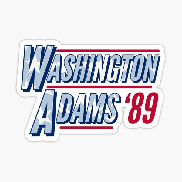 Washington Adams '89 Sticker