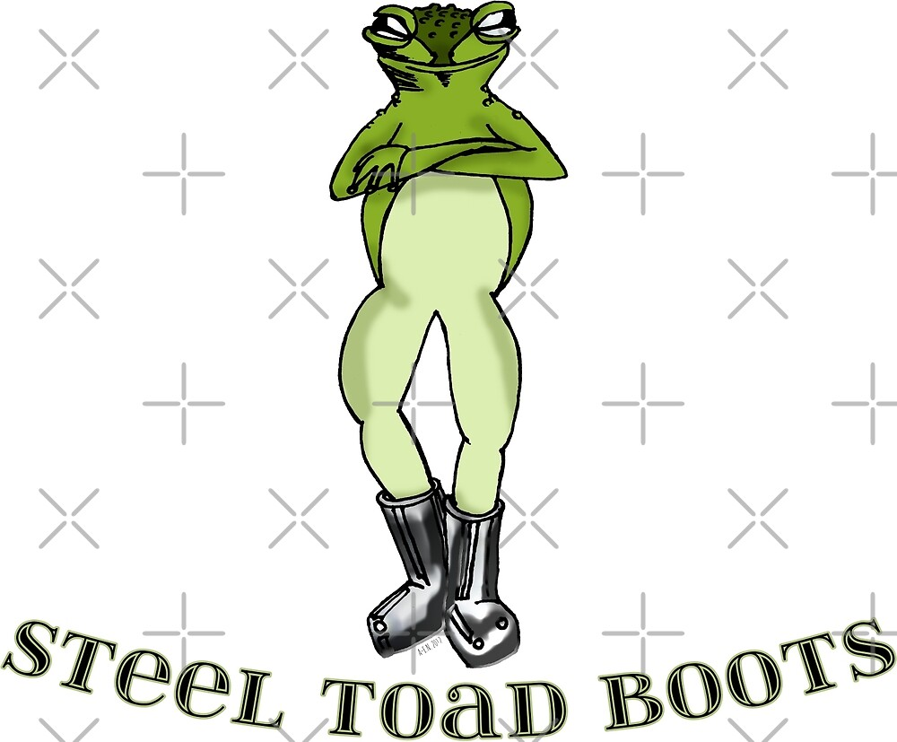 Steel Toad Boots by Amy-Elyse Neer