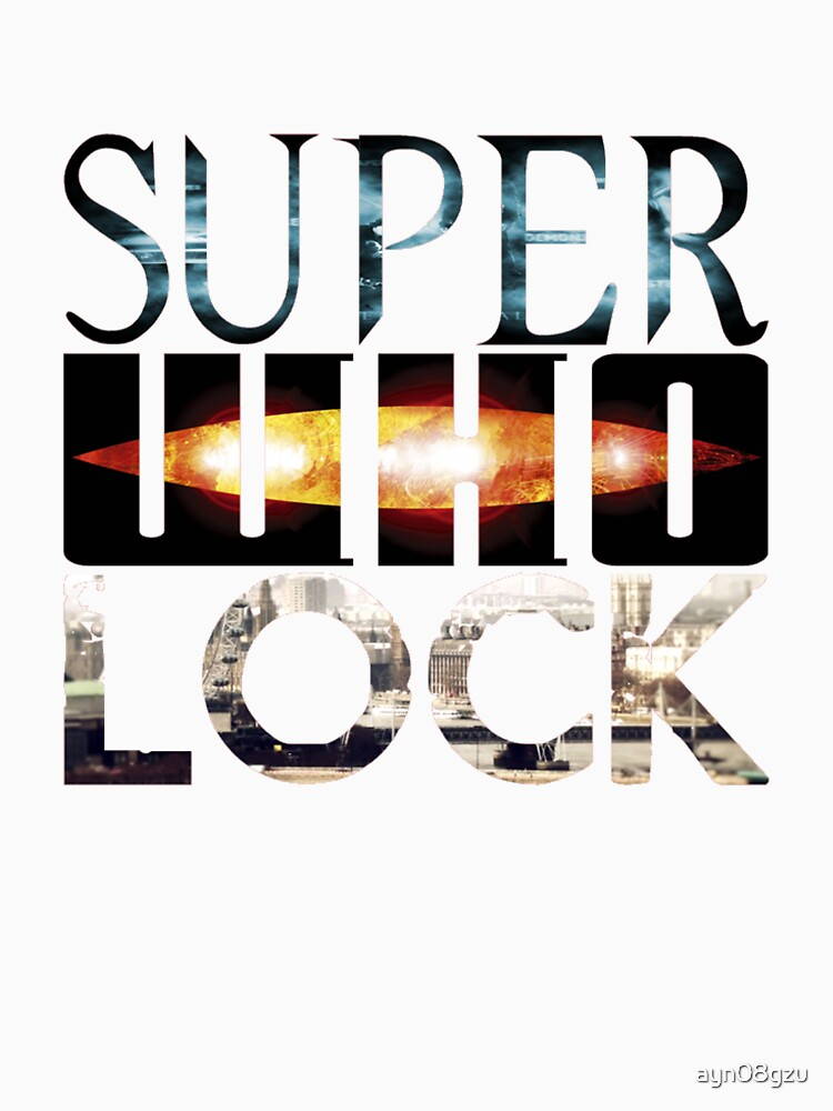 SuperWhoLock | Unisex T-Shirt