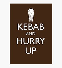 Kebab and hurry up Photographic Print