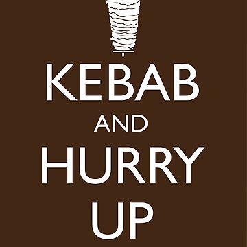 Kebab and hurry up by grafiskanstalt