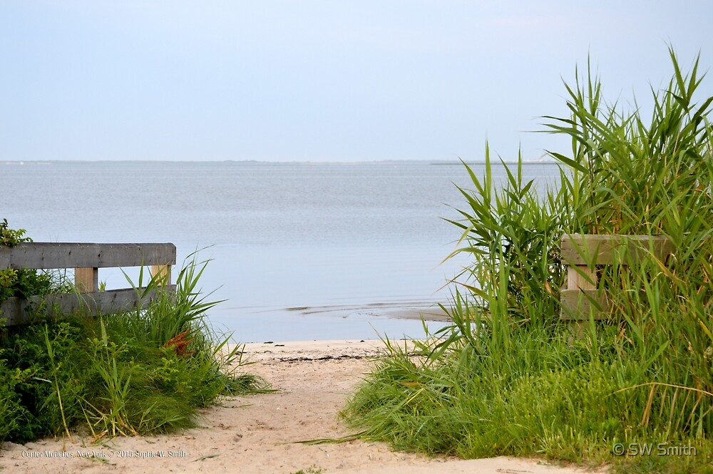 Webby's Beach Entrance | Center Moriches, New York  by © Sophie W. Smith