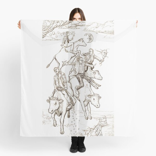 The Four Mad Cowboys of the Apocalypse Scarf