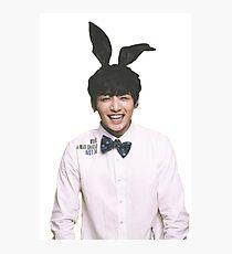 Bunny Jungkook BTS  Photographic Print