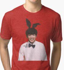 Bunny Jungkook BTS  Tri-blend T-Shirt