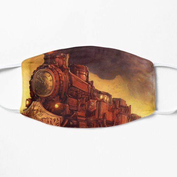Steampunk Locomotive Flat Mask