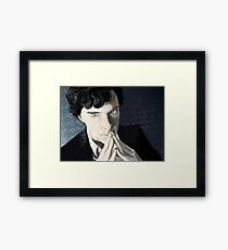 The genius Framed Print