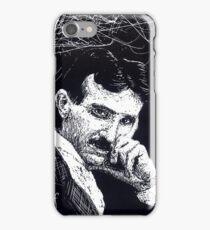 Tesla iphone case iPhone Case/Skin