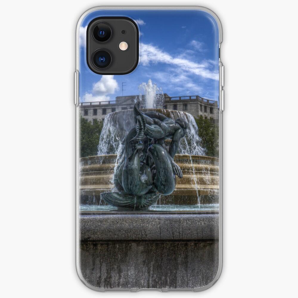 Trafalgar Square  fountain iPhone Case & Cover