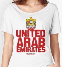 United Arab Emirates Women's Relaxed Fit T-Shirt