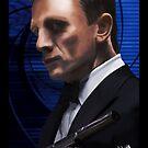 Daniel Craig-James Bond by Andrew Wells