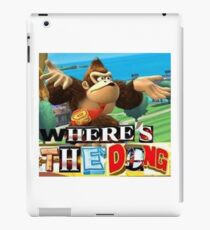 where is the dong iPad Case/Skin