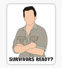Survivors Ready? Sticker