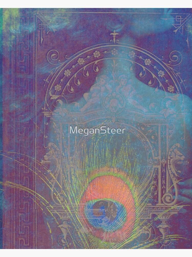 Gilded Dreams in Teal by MeganSteer