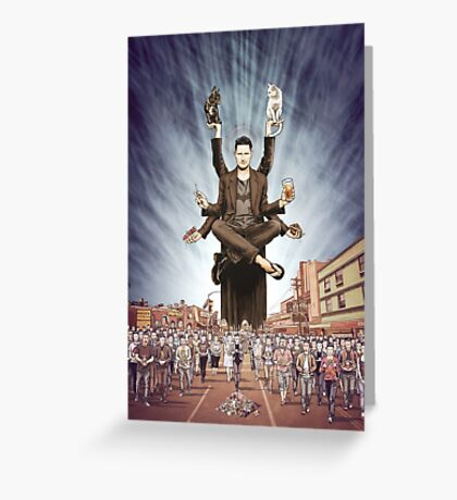 Wil Anderson - Wiluminati (textless) Greeting Card