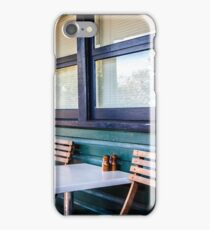 Sitting in a Cafe in Sydney national park. iPhone Case/Skin