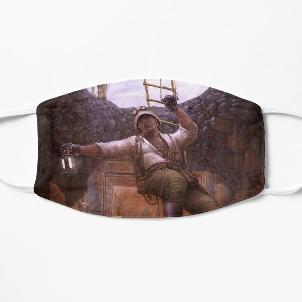 Steampunk Archaeologist Flat Mask