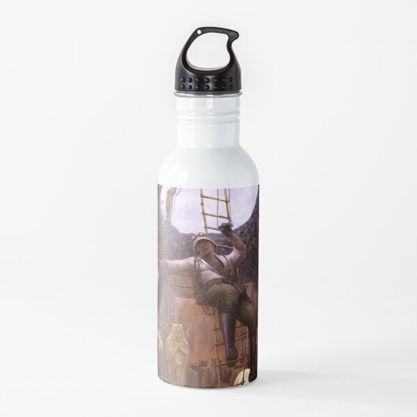 Steampunk Archaeologist Water Bottle