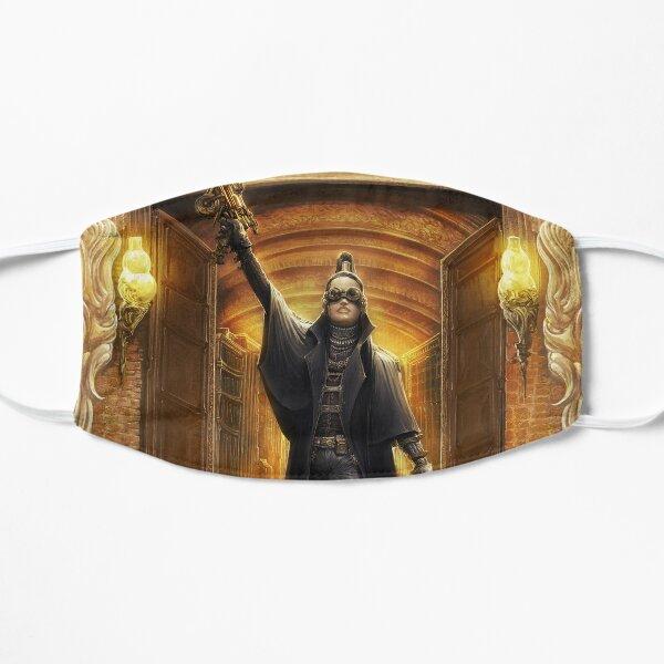 Steampunk Detective Flat Mask