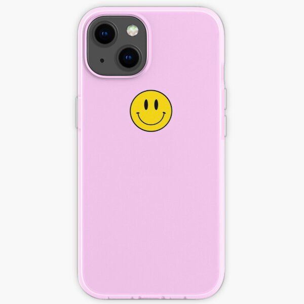 Small   Happy Face   Pink   Smiley    iPhone Soft Case