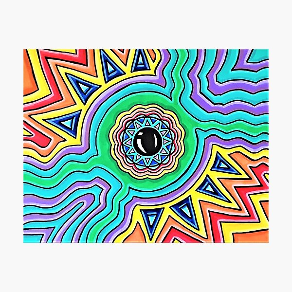 Eye Of Consciousness  Photographic Print