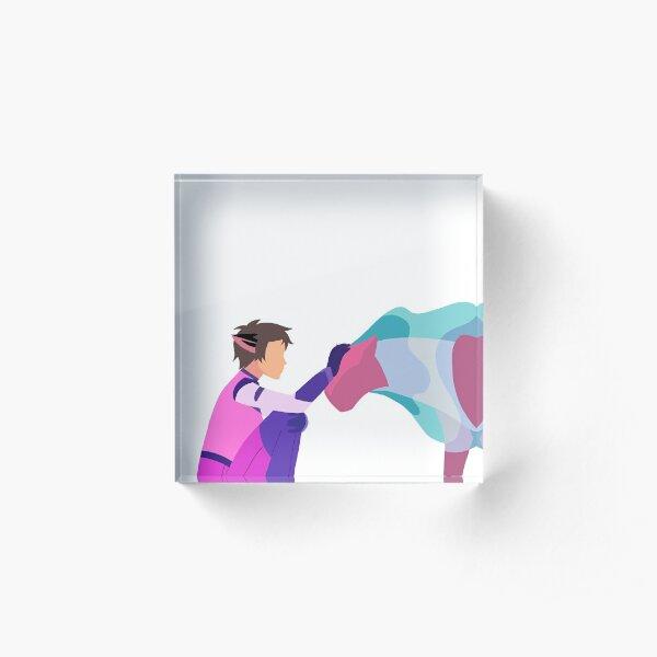 Cat + Space Cat Acrylic Block