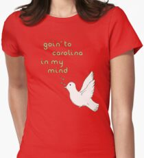 Goin' to Carolina: James Taylor Womens Fitted T-Shirt