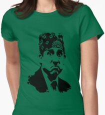 The Office Prison Mike -  Steve Carrell Women's Fitted T-Shirt