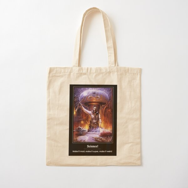 Science: Mad, Super, or Weird Cotton Tote Bag