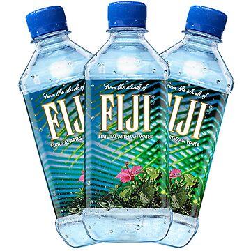 Botellas de agua de Fiji de PennySoda