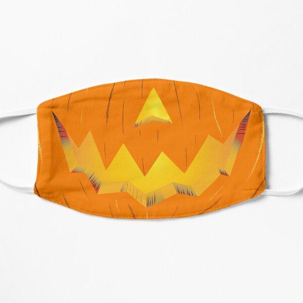 Jack-O-Lantern Smile Face Flat Mask