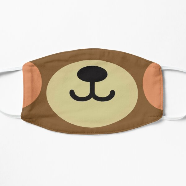 Teddybear Flat Mask