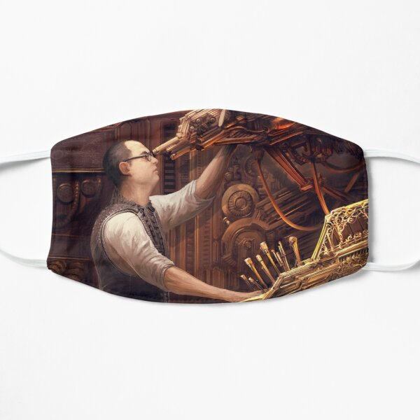 Steampunk Astronomer Flat Mask