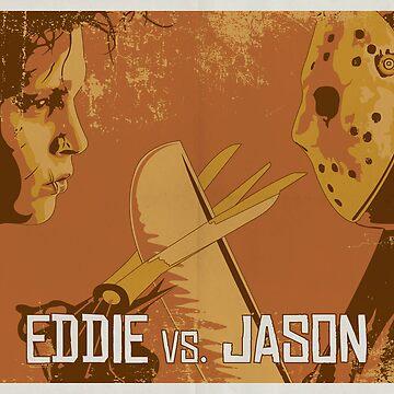 Eddie vs. Jason by brickhut