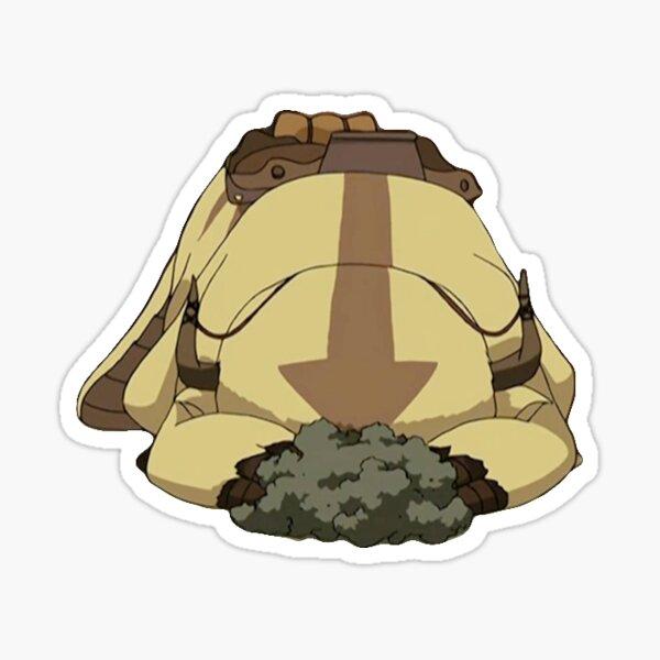 Appa Hiding Sticker