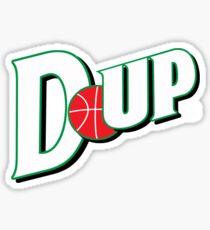"""Vict """"D-up Basketball""""  Sticker"""