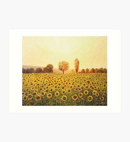 Memories of The Summer Art Print