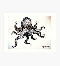 The Octopus Omniscientus Art Print