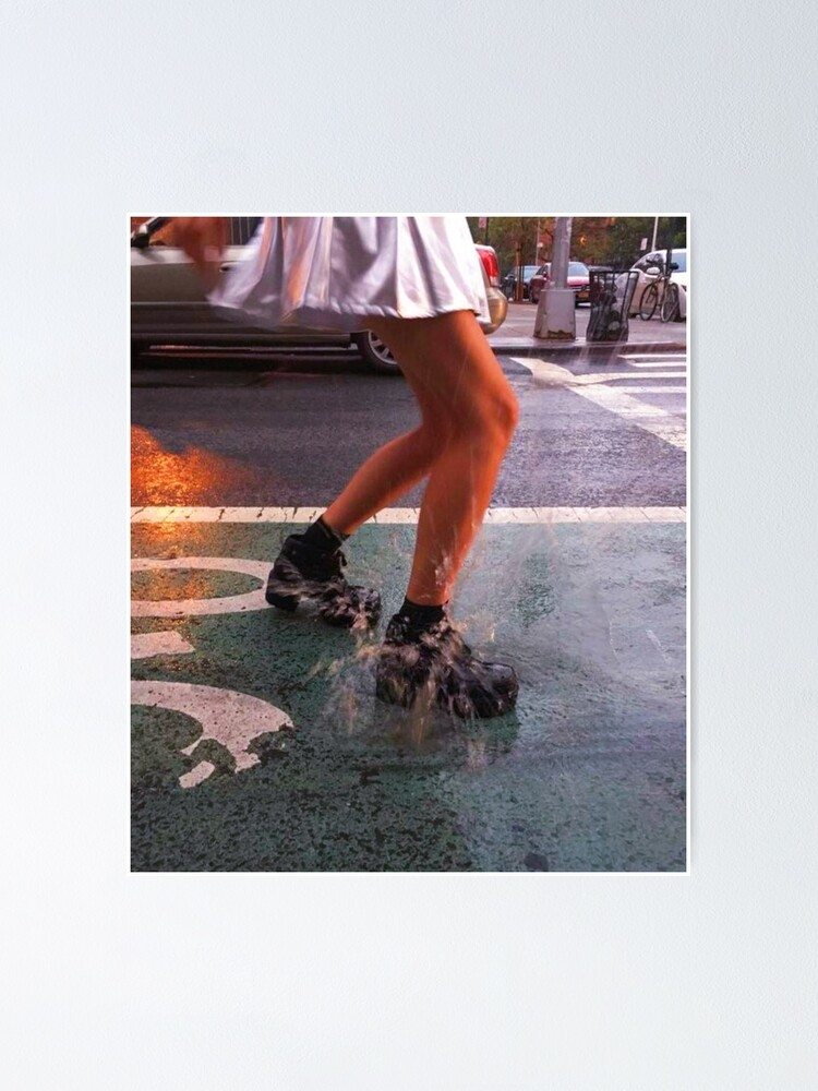 Alternate view of DANCING IN THE RAIN  Poster