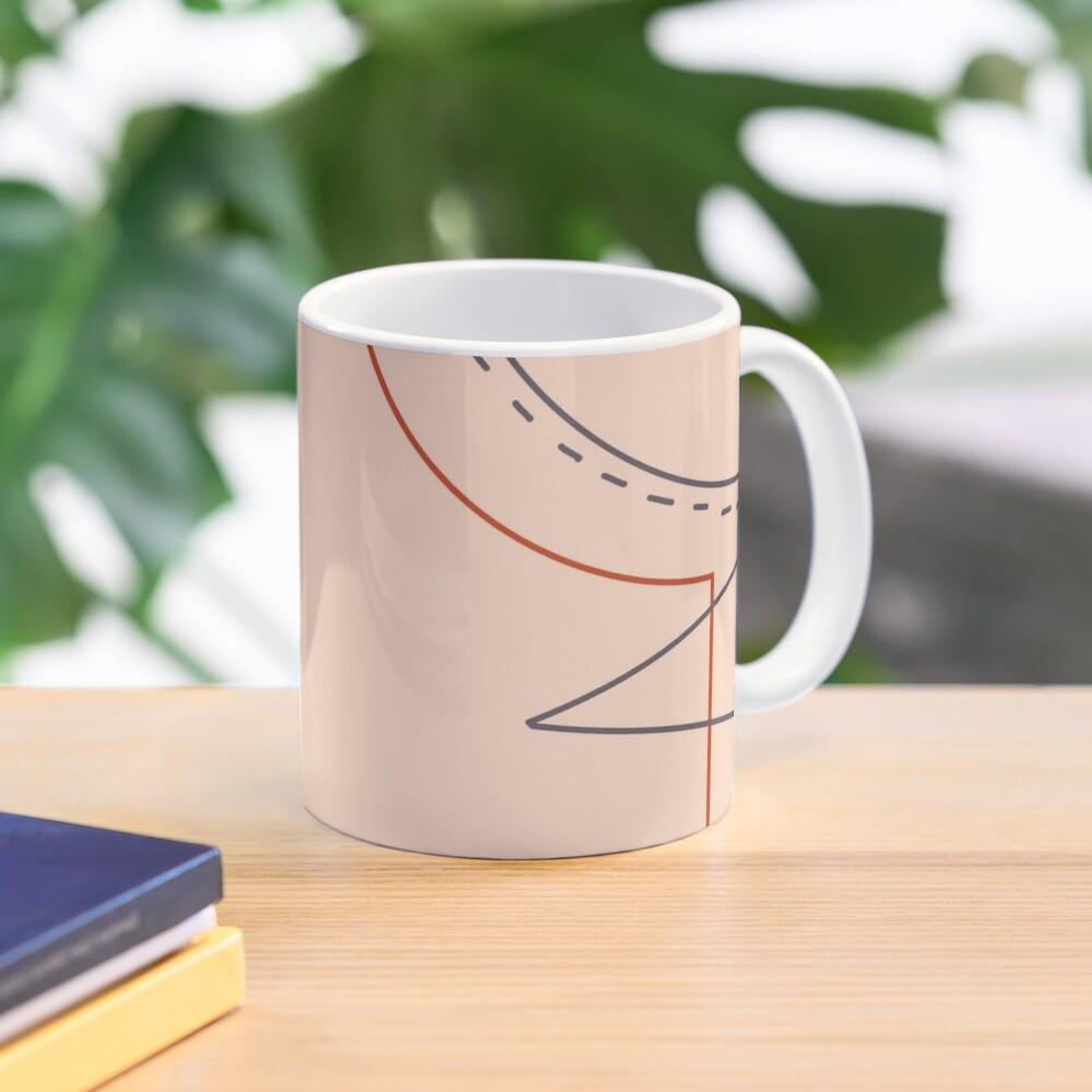 Sewing pattern Mug