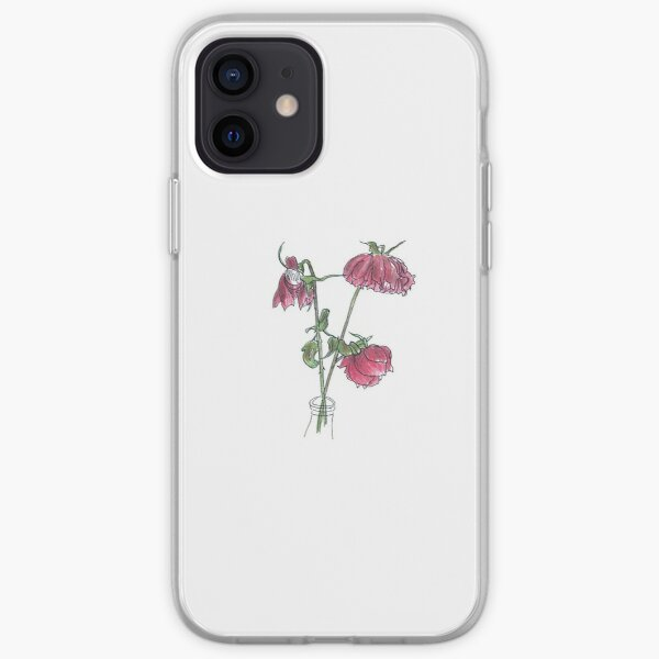 Wilted Rose iPhone Soft Case
