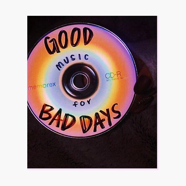 GOOD TUNES CD Photographic Print