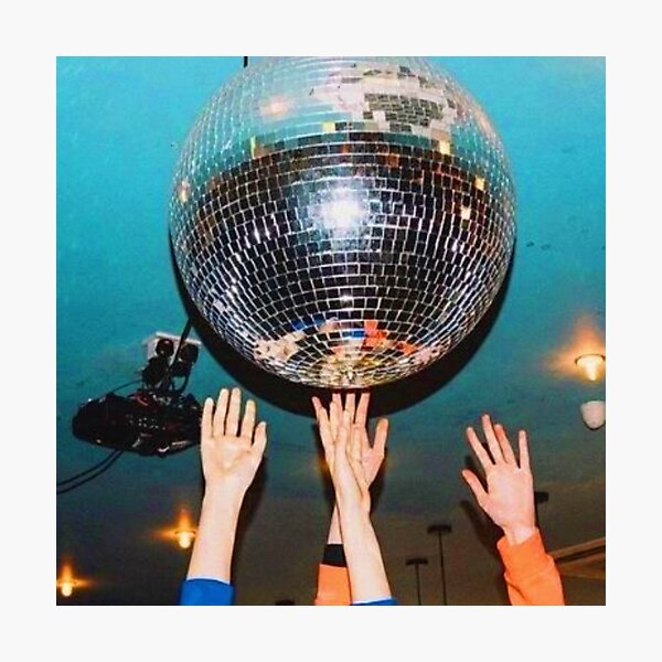 DISCO THE NIGHT AWAY Photographic Print