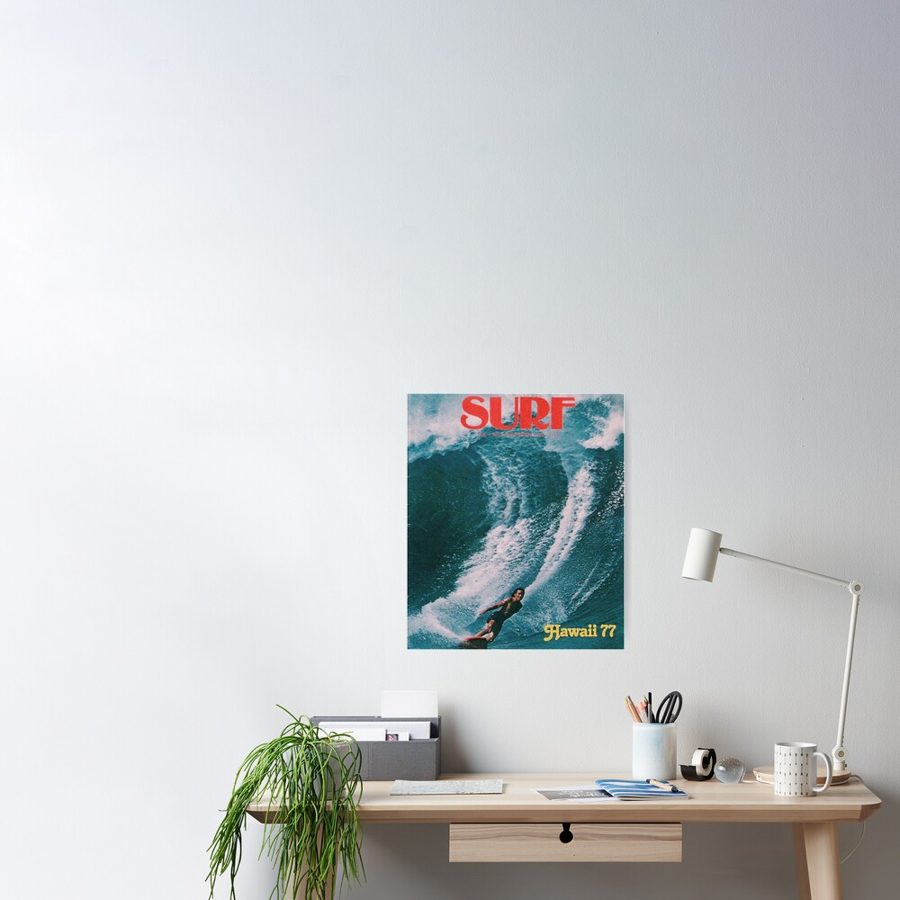 LETS GO SURFING Poster