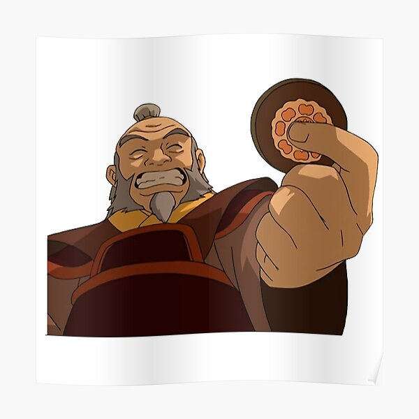 Uncle Iroh Smiling  Poster
