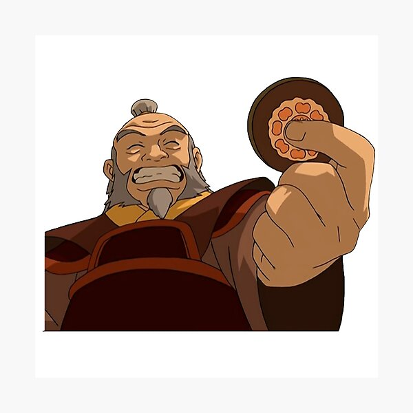 Uncle Iroh Smiling  Photographic Print