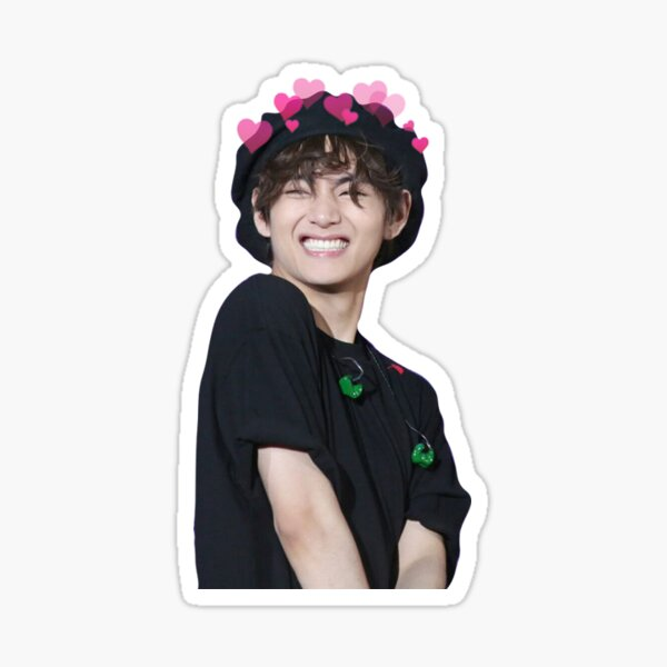 BTS V cute sticker Sticker