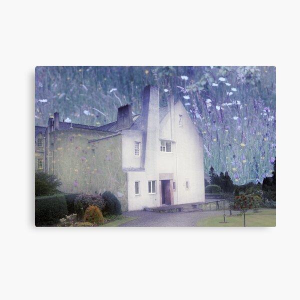 The Hill House by Charles Rennie Mackintosh Canvas Print