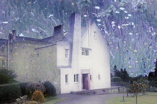 The Hill House by Charles Rennie Mackintosh by simpsonvisuals